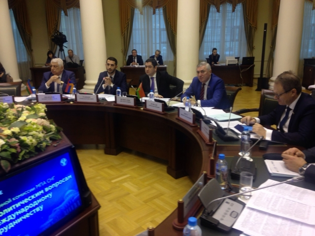 Заседание постоянной комиссии по политическим вопросам и международному сотрудничеству